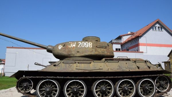 MUZEUM POZYSKAŁO CZOŁG T-34