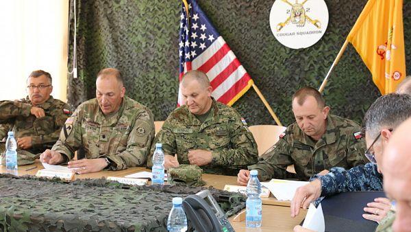 Wizyta Dowódcy Wojsk Lądowych Chorwacji w 15GBZ