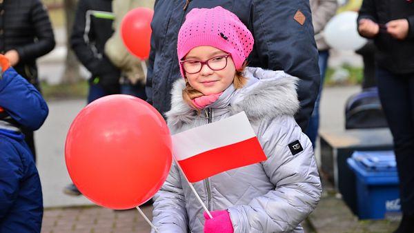 Orzyszanie świętowali 99- rocznicę odzyskania przez Polskę Niepodległości.