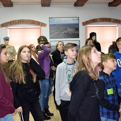Młodzież z klubu 15 Giżyckiej Brygady Zmechanizowanej z wizytą w Muzeum⛄️⛄️