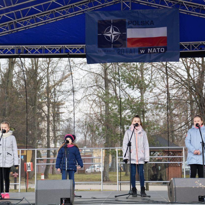 Piknik z okazji 20-lecia wstąpienia Polski do NATO