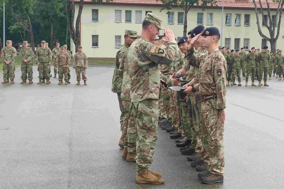 Batalionowa Grupa Bojowa przeprowadziła zawody upamiętniające poległych żołnierzy