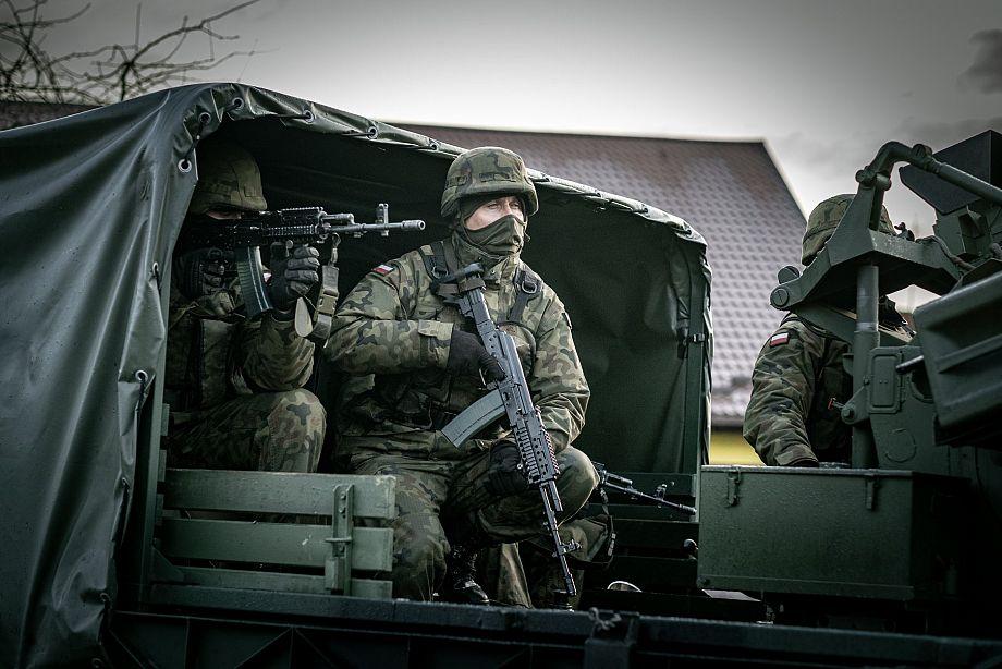 Odbicie Ratusza z rąk terrorystów w ramach ćwiczeń TUMAK-20